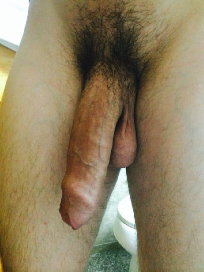 Long Hairy Soft Cock