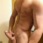 Nude Jock With A Thick Hard Cock