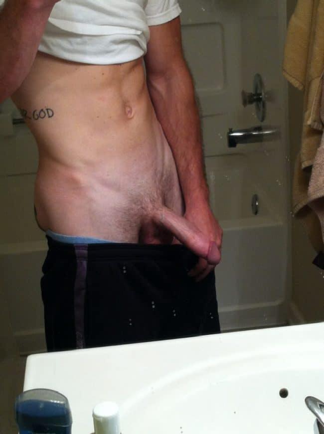 Semi Hard Penis