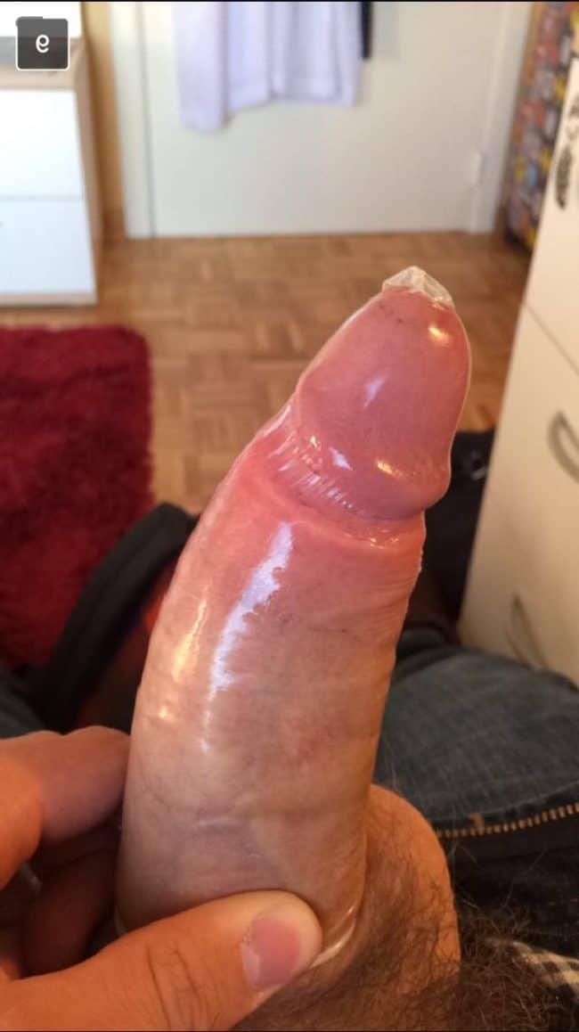 Cock In Condom