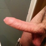 Erected Man With A Perfect Uncut Cock