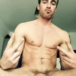 Hot Nude Guy With A Soft Uncut Cock