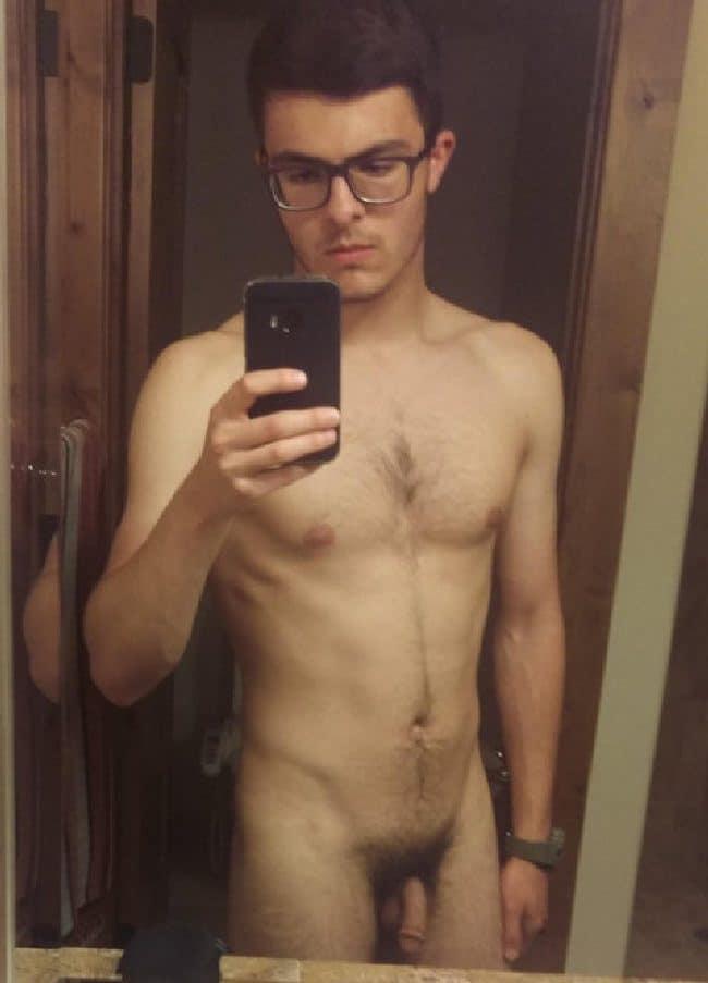 Nude Flaccid Guy