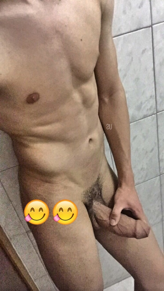 Nude Guy Jerking Off