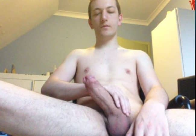 Nude Webcam Man